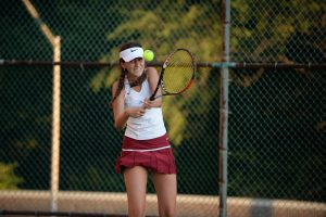 BC Women's Tennis Team Wins First Match