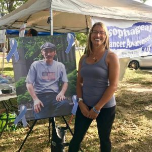 BC Alum Organizes Esophageal Cancer Run