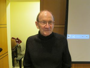 BC Professor Shares Holocaust Experience, Decries Climate Denial
