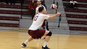 Men's Volleyball Looks to Regain Footing