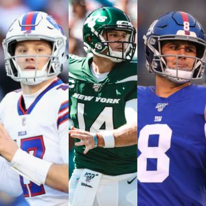 NFL Week One: Bills Win, Jets and Giants Can't Get Off Ground