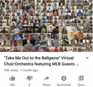 Take Me Out to The Ball Game! BC Student Hosts Digital Rendition with MLB Stars