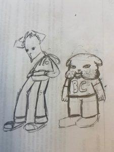 "Vanguard Insider: ""Vinny the Goat"" Comic Strip Duo"