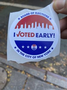 An Experience With the 2020 Election's Long Early Voting Lines