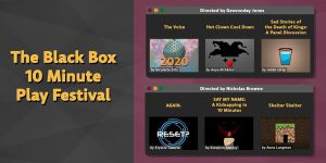 Theater Dept. Holds Black Box Theater Fest, Show Goes on as Chat Feature Goes Awry