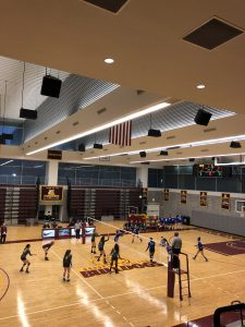 Women's Volleyball Dominates