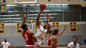 Men's Basketball Drops Season Opener Patterson