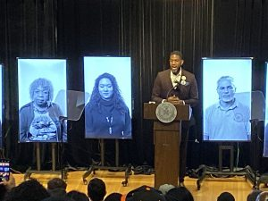 """Jumaane Williams Holds """"State of the People"""" Address at Brooklyn College"""