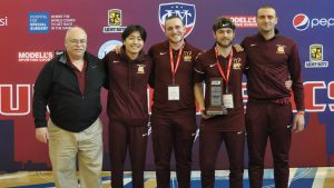 Men's Swimming Achieves Top Finish in School History
