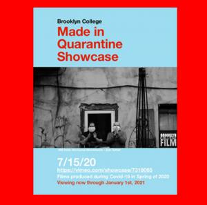 BC's Made in Quarantine Film Festival Shows Life During Virus