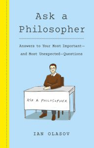 """BC Prof Olasov Wants You to """"Ask a Philosopher"""""""