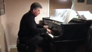 Piano Professor Pays Tribute to Ruth Bader Ginsburg