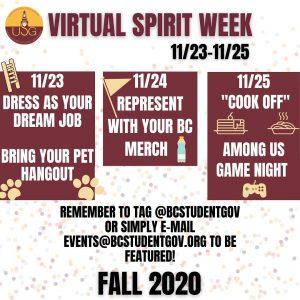 USG Has Participation Woes During Virtual Spirit Week
