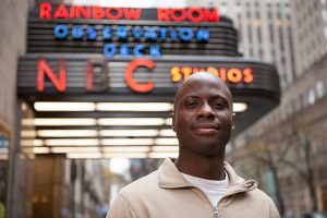 """Fierstein Student Hasmiru Sesay Mixes Passions as """"SNL"""" COVID Manager"""