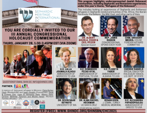 Sephardic Heritage Organization Remembers the Holocaust with Annual Talk