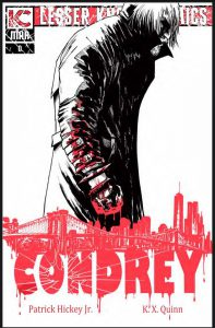 "BC Alum Patrick Hickey Jr. Released New Gritty Comic Serial, ""Condrey"""