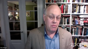 Journalist Chris Hedges Discusses Politics After Trump at USG Event
