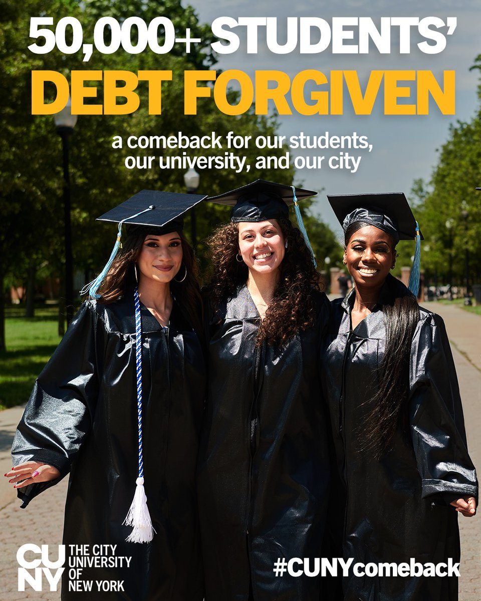 CUNY Comeback Program Clears Tuition Debts