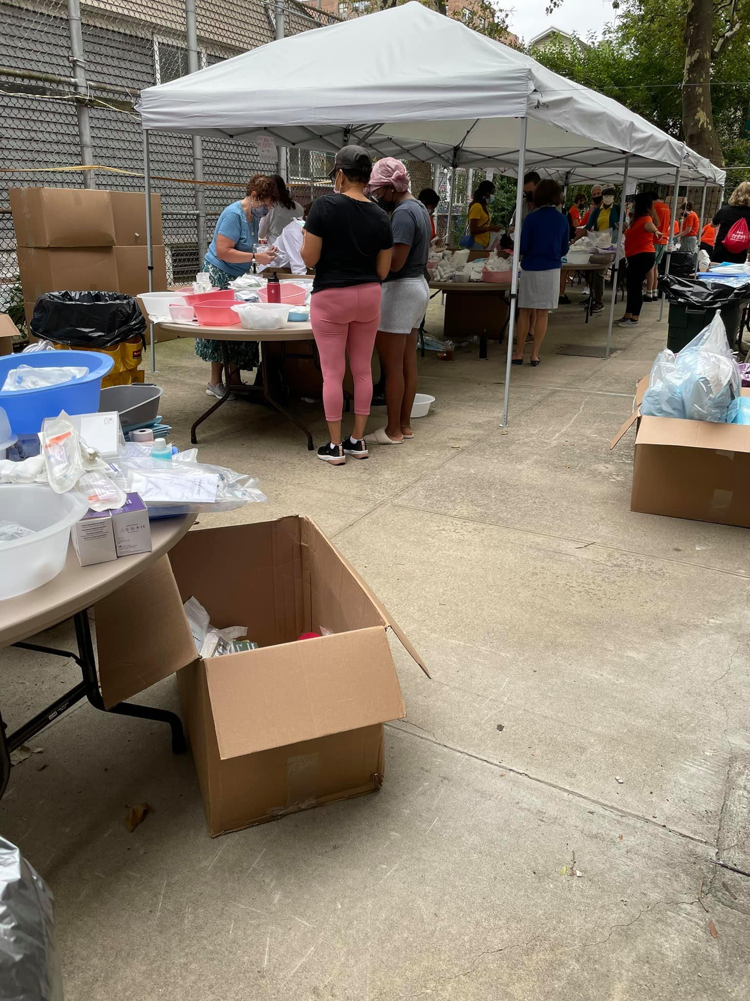 Local BK Haiti Relief Drive